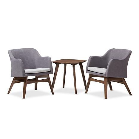 Vera 3-Piece Lounge Chair and Side Table Set