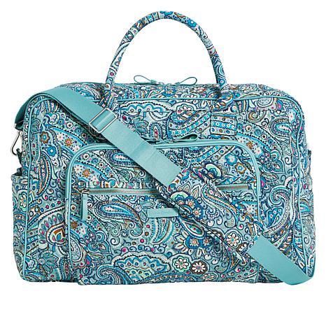 Vera Bradley Iconic Large Weekender Travel Bag