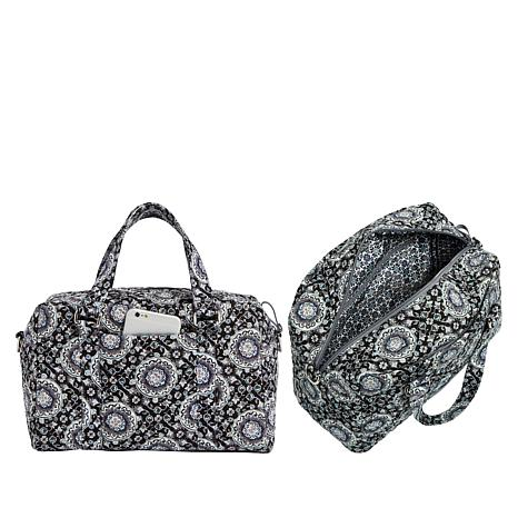 dc37466c2e4f Vera Bradley Iconic Quilted Handbag and Matching RFID Wallet - 8950155
