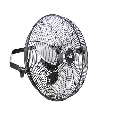 Vie Air Dual Function 18 Inch Wall Mountable Tilting Floor Fan with...