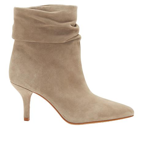 add7bd93915 Vince Camuto Abrianna Leather Pointed-Toe Bootie - 8852122