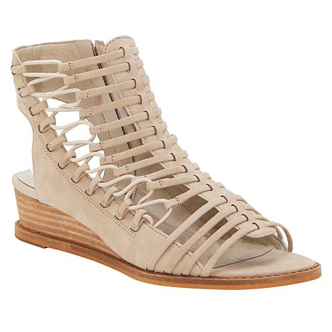 Vince Camuto Romera Leather Wedge Gladiator Sandal
