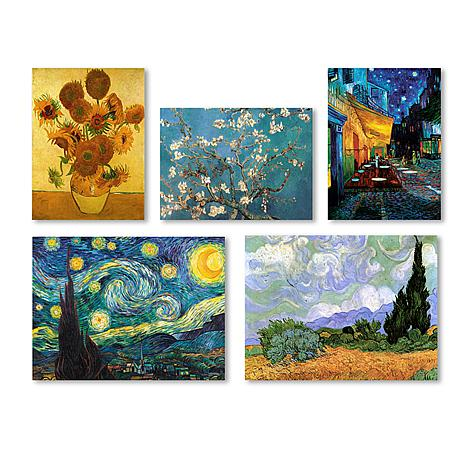 Vincent van Gogh Wall Collection\'\' Multi-Panel Art Collection ...