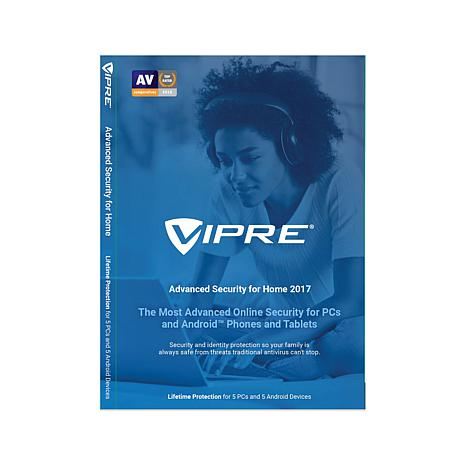 VIPRE™ Advanced Security for Home 2017 - 5 PCs/5 Mobile