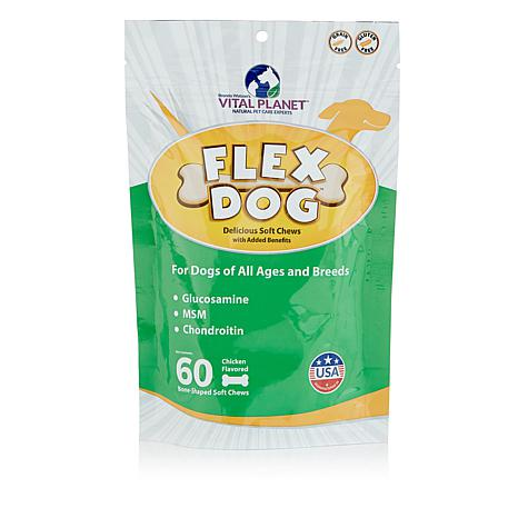 Vital Planet 60-count Flex Dog Treats