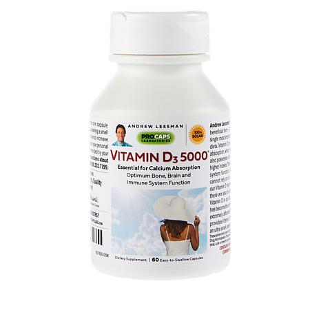 Vitamin D3-5000 - 60 Capsules