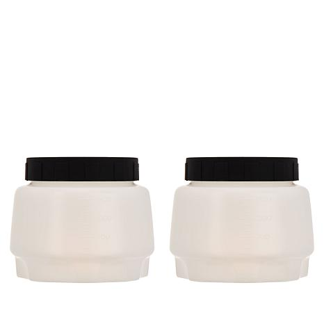 Wagner Set of 2 45 oz. Paint Cups with Lids