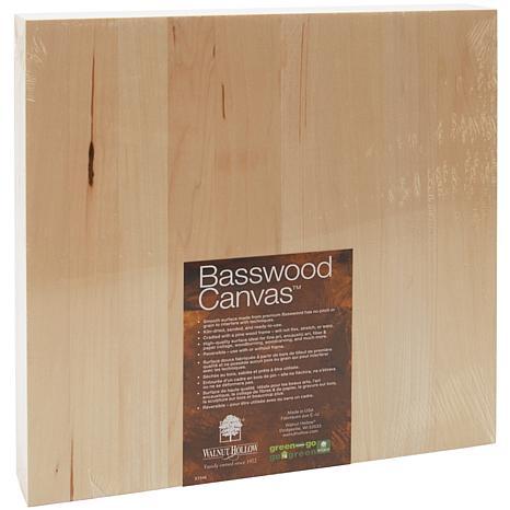 """Walnut Hollow Basswood Canvas - 12"""" x 12"""""""