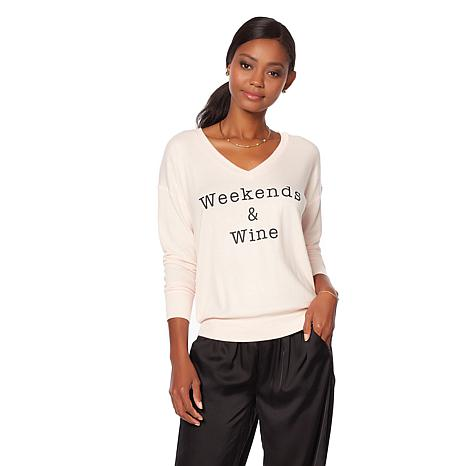 Wendy Williams Lightweight Weekend Sweatshirt