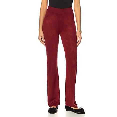 Wendy Williams Pull-On Sweater Knit Pant