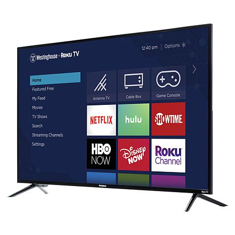 "Westinghouse 50"" 4K UHD Smart TV with Built-In Roku & 2-Year Warranty"