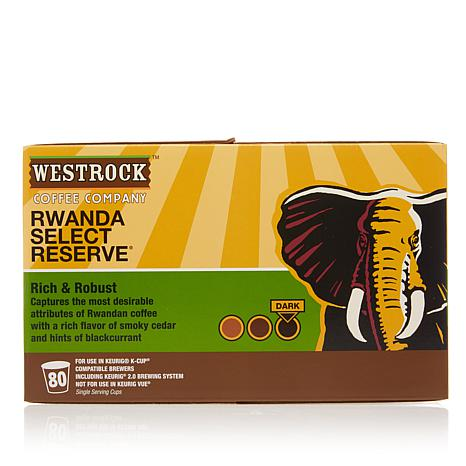 Westrock® Coffee Company 80-count Pods - Rwanda Select Reserve