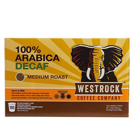 Westrock® Coffee Company Decaf 100-count Single Pods Auto-Ship®