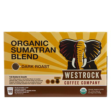 Westrock® Coffee Company Organic Sumatran 100-count  Auto-Ship®