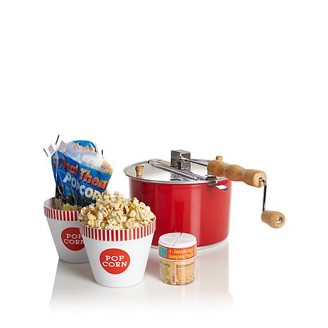 Whirley Pop Color-Changing Popcorn Popper with Tubs