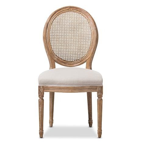 8d70dd3806 Adelia French Cottage Upholstered Dining Chair - 8696073 | HSN