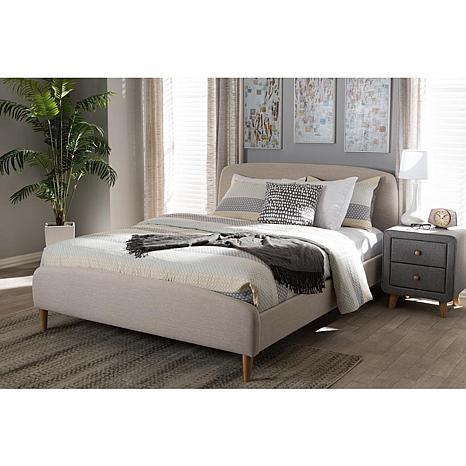 Wholesale Interiors Mia Fabric Full-Size Platform Bed