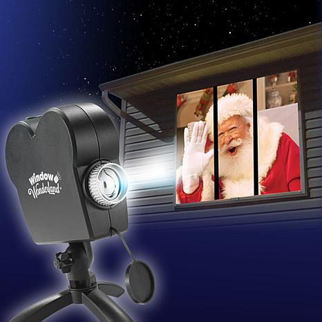 Window Wonderland Indoor Projector with 6 Bonus Videos