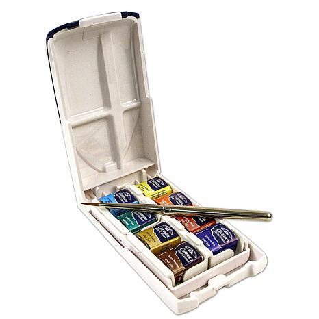Winsor and Newton Cotman Water Colour Mini Plus Set