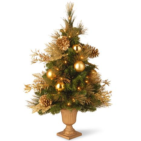 Winter Lane 3' Decorative Coll. Elegance Tree w/Lights