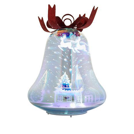 Winter Lane 3D Vintage Christmas Bell