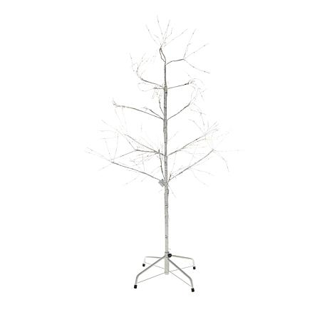 Winter Lane LED Fairy Lights White Birch Bark Tree - 3'