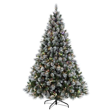 Winter Wonderland 7-1/2' Artificial Christmas Tree with Clear Lights