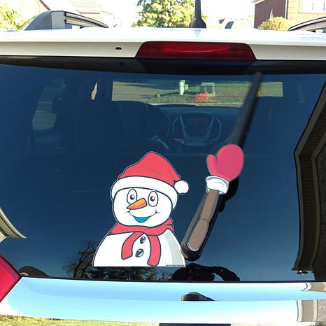 WiperTags Animated Rear Wiper – Chilly the Snowman