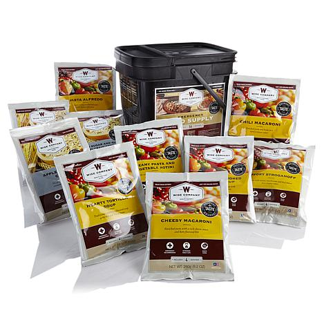 Wise Company 56-Serving Grab-and-Go Food Kit