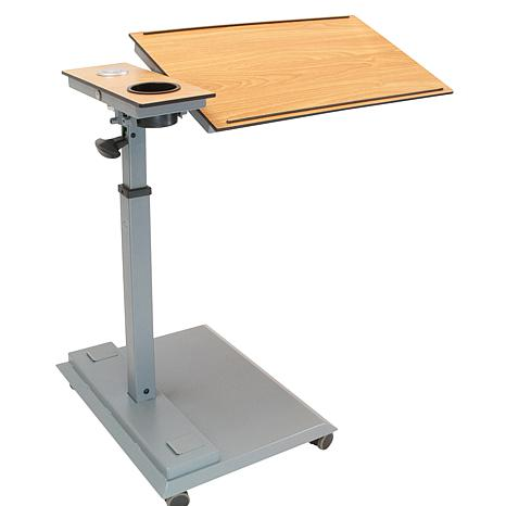 WiseLift Table with 360 Swivel and USB Ports