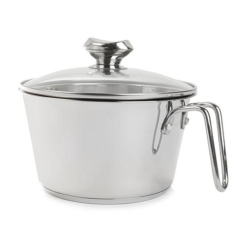 Wolfgang Puck 3-Quart Cook and Stir with Colander Lid