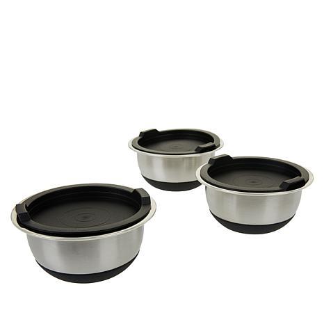 Wolfgang Puck 6-piece Stainless Steel Mini Mixing Bowl Set