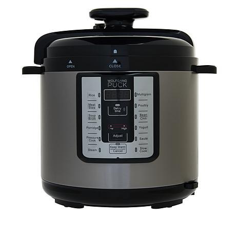 Wolfgang Puck 8-Quart Programmable Pressure Cooker