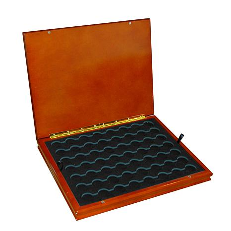 Wooden Display Box for 56 Quarters