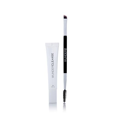 Wunderbrow Dual Precision Brush & Wundercleanse Set