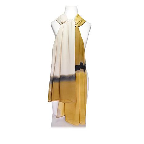 WynneLayers Abstract Print Scarf