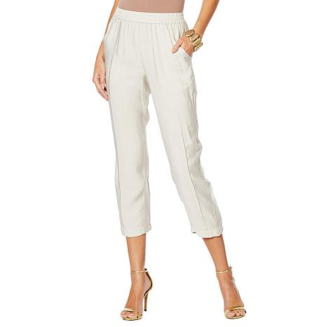 WynneLayers Malibu Cropped Pull-On Pant