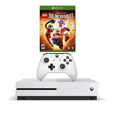 Xbox One S 4k 1tb Game Console With Lego The Incredibles Game