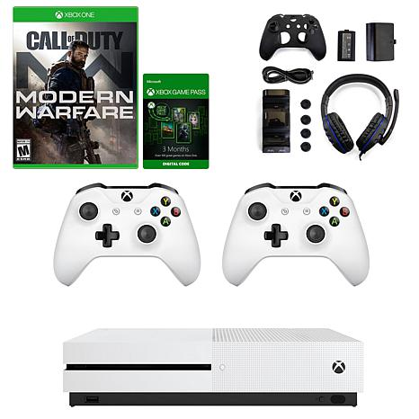 Xbox One With Call Of Duty Modern Warfare And Accessories Kit
