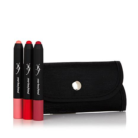 ybf Bloomin' Cray Cray Crayon Trio in Trifold Pouch
