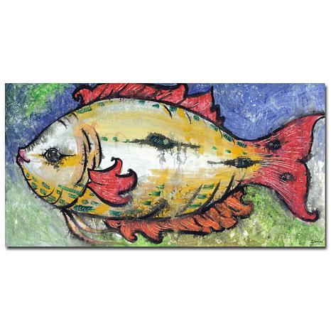 "Yonel ""Sea View"" Canvas Art - 12"" x 24"""