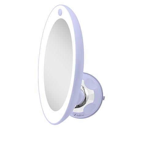 Zadro Z'Swivel LED Lighted Power Suction Mirror