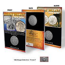 1882 O-over-S Mint 90% Silver Morgan Silver Dollar