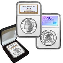 1884 MS64 NGC O-Mint Morgan Silver Dollar