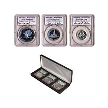 1976-S Signed Bicentennial Silver Proof 3-piece Collection