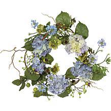 "20"" Hydrangea Wreath"
