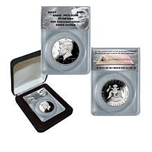 2014 PR70 ANACS John F. Kennedy 50th Anniversary Silver Half Dollar
