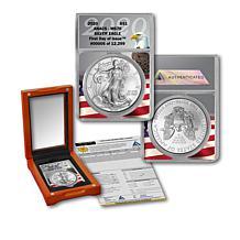 2020 MS70 ANACS FDOI 12,299 Silver Eagle Dollar & Grading Certificate