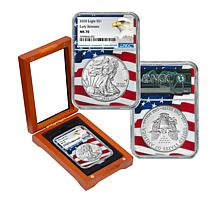 "2020 MS70 NGC ""Early Releases"" Silver Eagle Dollar Coin"