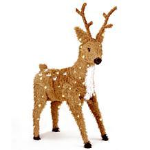 3' Standing Reindeer w/Lights